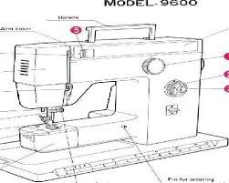 Toyota 9600 Sewing Machine