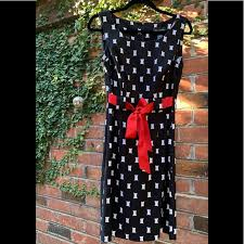 Connected Apparel Size Chart Gorgeous A Line Dress W Red Ribbon