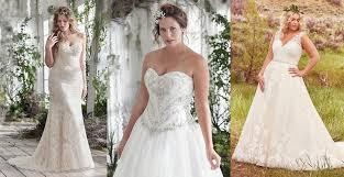 flattering wedding dresses for curvy brides love maggie love