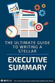 Executive Summary How To Write Stellar Executive Summary Updated