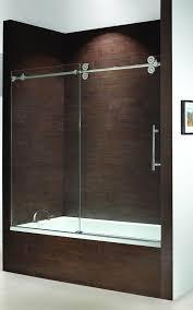 best frameless sliding shower doors also frameless sliding bath shower doors