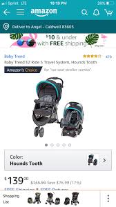 the stroller that is the baby trend with 3 wheels people are saying in reviews that the car seat is really upright and doesn t lean back as much as they