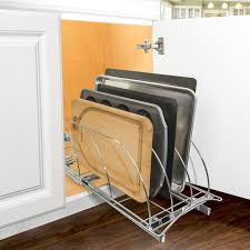 cutting kitchen cabinets. Lynk Professional® Roll Out Cutting Board, Bakeware, And Tray Organizer - Pull Kitchen Cabinets