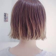 Sachiko Handaさんのヘアカタログ 外国人風グラデーションハイライト