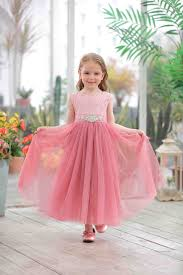 Dress Design 2019 New Design Baby Girls Dresses Children Long Maxi Lace Dress With Rhinestone Sash Tulle Dress Fashion Girls Clothes From Babykidsboutique 138 7