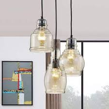 mariana antique black cognac glass 3light cluster pendant chandelier 3 light cluster pendant s82