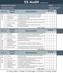 Housekeeping Checklist Template Spring Cleaning Samples Excel Format ...