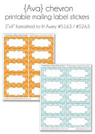 Avery Label Templates 8160 Avery Template 8160 Best Template Collection Chevron