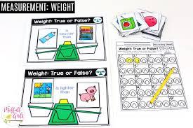 Kindergarten Math Measurement And Data