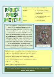 english teaching worksheets recycling english worksheets reduce reuse recycle