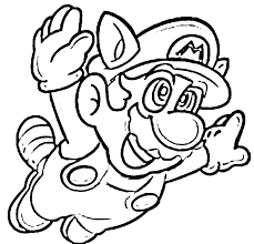 Super Bros Coloring Pages Printable Color In Mario Sheets Odyssey