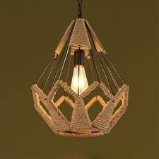 exquisite lighting. Exquisite Rope Cage Style Full Size Indoor LED Pendant Lighting Fixture