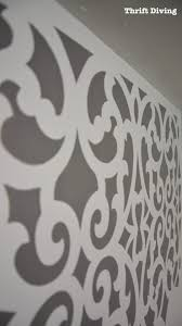small bathroom makeover mansion house grille trellis thriftdiving com