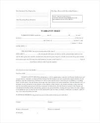 Sample Deed Of Trust Form Delectable Sample Warranty Deed Document Preview Title Template Srmunivco