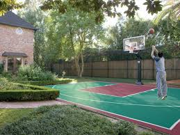 backyard ideas basketball court. home basketball court design backyard courts in stunning creative ideas
