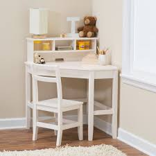 White Writing Desk with Hutch | Hayneedle