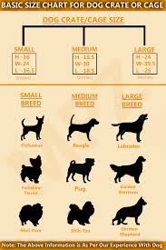 dog crates size chart dog cage or crate2 jpg