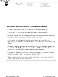 Letterhead Sample Word 31 Word Letterhead Templates Free Download