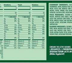 dannon activia light variety pack 4oz dannon foodservice regarding activia yogurt nutrition label