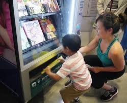 Vending Machine Books Stunning Sunnyvale County's First Library Vending Machine Serves Books At