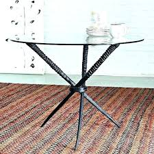 coffee table base round wrought iron i was trying diy for