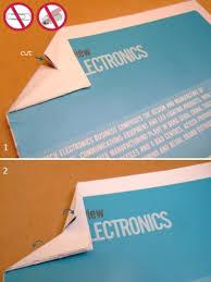 Как скрепить листы бумаги без скрепок и степлера Лайфхакер Разрез посередине