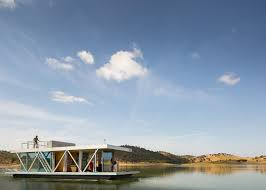Floating Home Manufacturers Prefabricated Floating House Can Be Shipped Worldwide