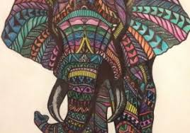 colorful elephant drawings.  Colorful Elephant Drawing Color Indian At Getdrawings  Free  For Personal With Colorful Drawings E