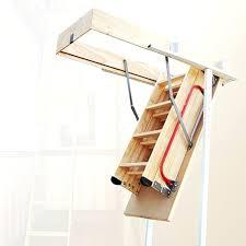 wooden loft ladder pine wood attic loft ladder sliding wooden loft ladder uk