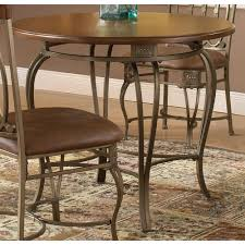 hilale furniture montello old steel 36 inch round dining table