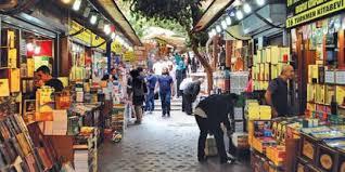 old book sellers bazaar sahaflar Çarşısı İstanbul trere in grand bazaar