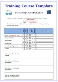 Training Templates For Word Training Course Templates 2 Printable Word Pdf Formats
