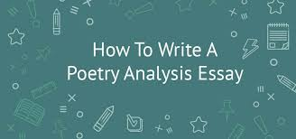 poetry analysis essay general facts examples rubric outline poetry analysis essay
