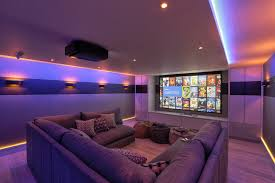 theater room lighting. Home Cinema Theatre Theater Contemporary With Lighting Tv Room