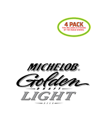 Michelob Golden Draft Light Where To Buy Amazon Com Htm Michelob Golden Draft Light Beer Sticker