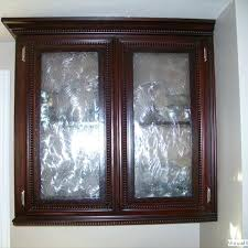 glass cabinet inserts kitchen door home design in idea