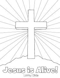 Preschool Easter Coloring Pages Christian Coloring Pages Printable