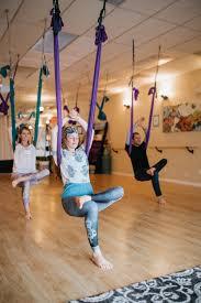 aerial yoga om my yoga