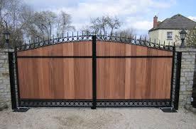 steel frame gates