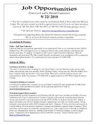 First Time Job Resume Resume Template Part 100 50