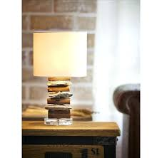 Table Lamps: Diy Driftwood Table Lamp Driftwood Table Lamp Pottery Barn  Stone And Driftwood Table