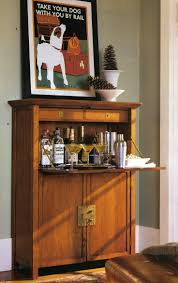 hidden bar furniture. liquor cabinet in a secretary desk hidden bar furniture