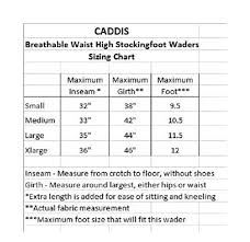 Caddis Waders Size Chart Caddis Mens Attractive 2 Tone Taupe Deluxe Breathable