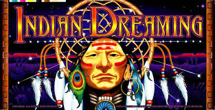 Indian Dreaming Aristocrat Slot Game Board