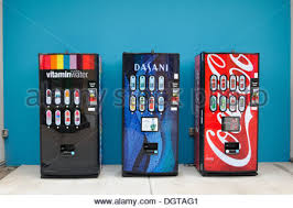 Vending Machine Theft Prevention Beauteous Vending Machines With CocaCola And Dasani Water Drinks With Stock
