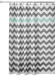 grey chevron shower curtains. InterDesign Chevron Shower Curtain, 72 X 72-Inch, Gray/Aruba Grey Chevron Shower Curtains R