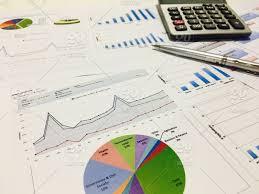 Graph Paper Calculator Growth Business Finance Money Paper Graph Diagram Gain Chart
