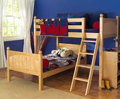 Image of: kids l shaped loft bed