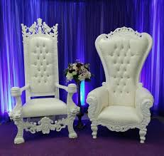 where to find chair king and queen set white throne in shreveport