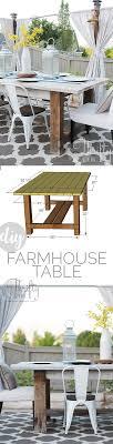 diy outdoor farmhouse table. DIY Farmhouse Table Tutorial. Outdoor Decor And Decorating Ideas. Patio Diy